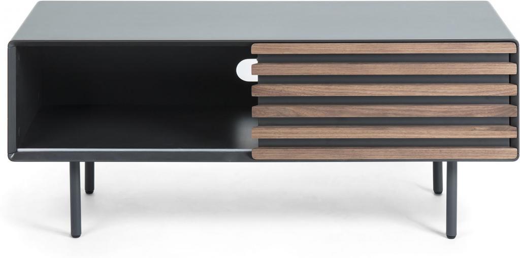 mahon tv cabinet 120x48 walnut veneer mdf matt gra kaufen. Black Bedroom Furniture Sets. Home Design Ideas